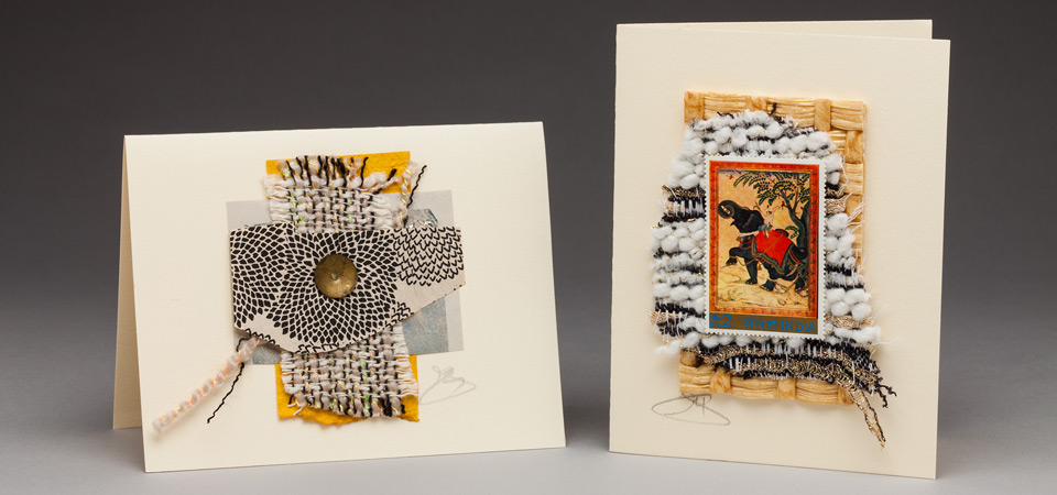 Handmade Art Cards by Curmudgeon Cards