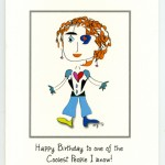 Kricket - Cool Birthday greeting card