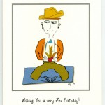 Shane - Zen Birthday card